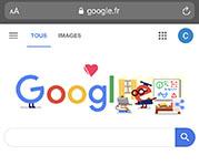 écran-smartphone-page-accueil-google
